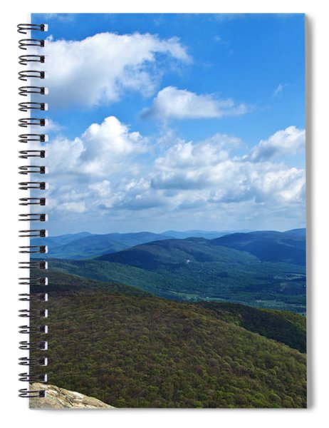 Humpback Rocks View North Spiral Notebook