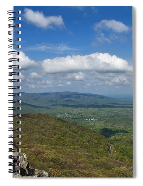 Humpback Rocks View South Spiral Notebook