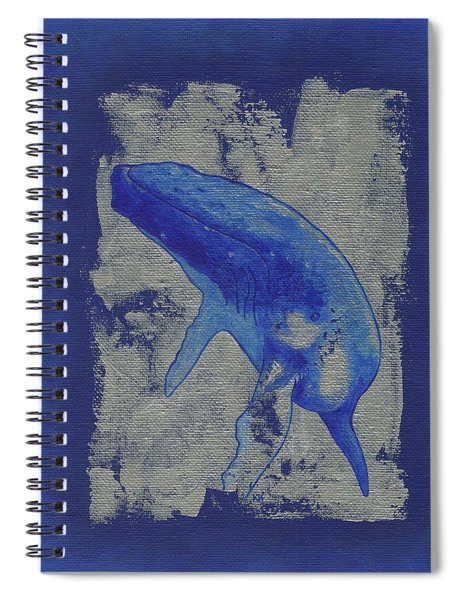 Humpback Whale Song Spiral Notebook