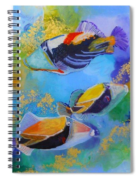 Humuhumu Spiral Notebook