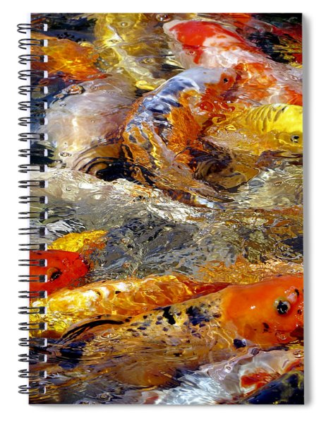 Hungry Koi Spiral Notebook