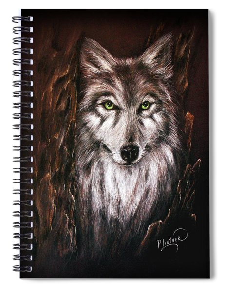 Hunter In The Night Spiral Notebook