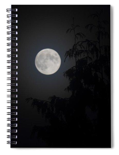 Hunters Moon Spiral Notebook
