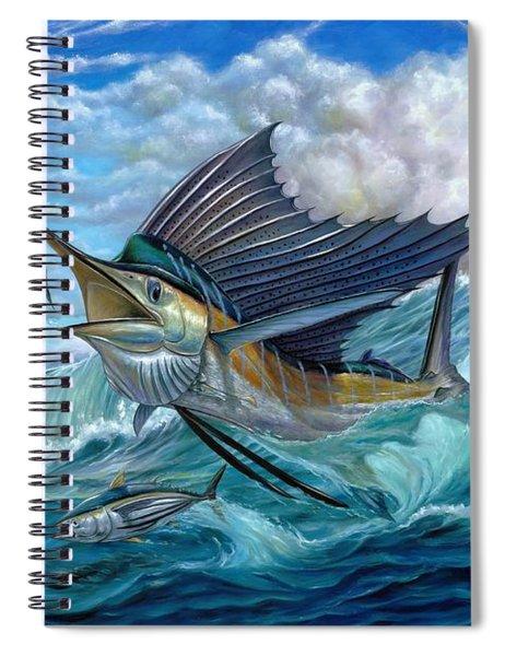 Hunting Sail Spiral Notebook