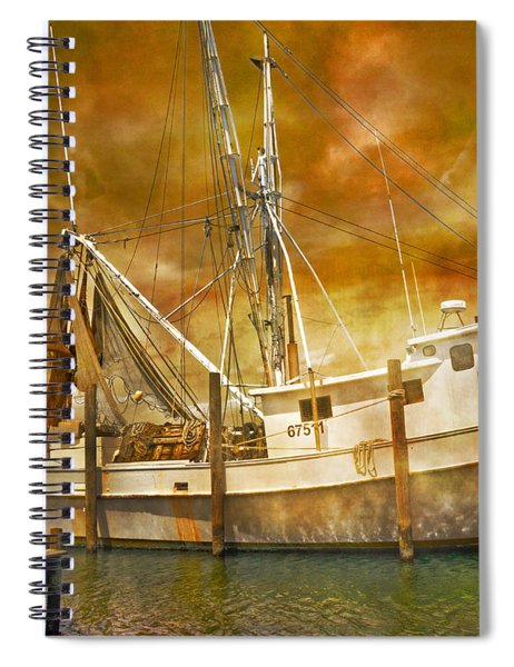 Hurricane Eve Spiral Notebook