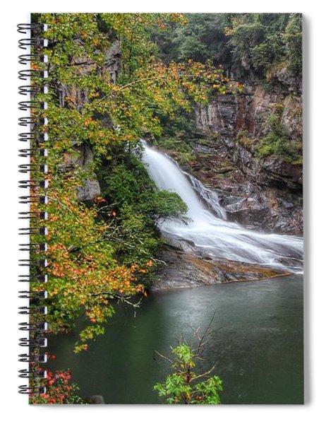 Hurricane Falls Spiral Notebook