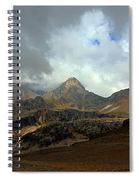Hurricane Pass Spiral Notebook