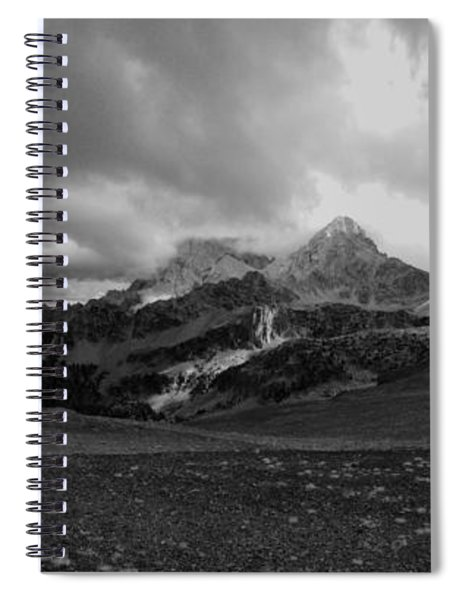 Hurricane Pass Storm Spiral Notebook