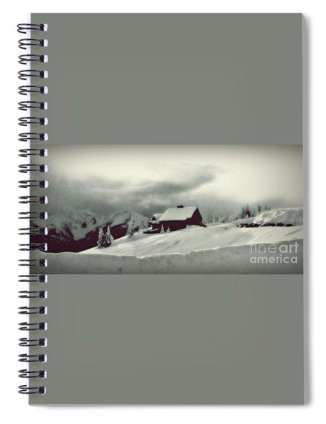 Hurricane Ridge By Steve Strand Spiral Notebook