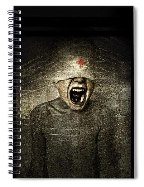 Hurt Spiral Notebook