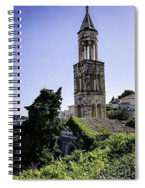 Hvar Church Tower Spiral Notebook