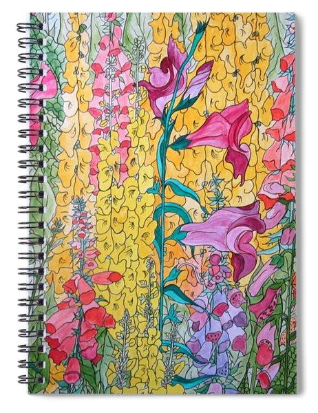 Hybrids 4 Spiral Notebook