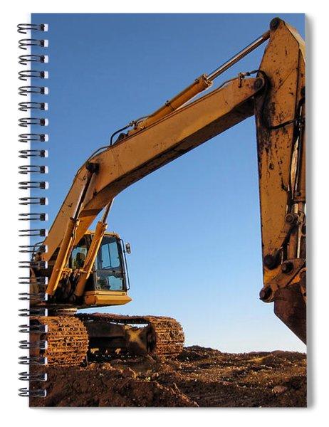 Hydraulic Excavator Spiral Notebook
