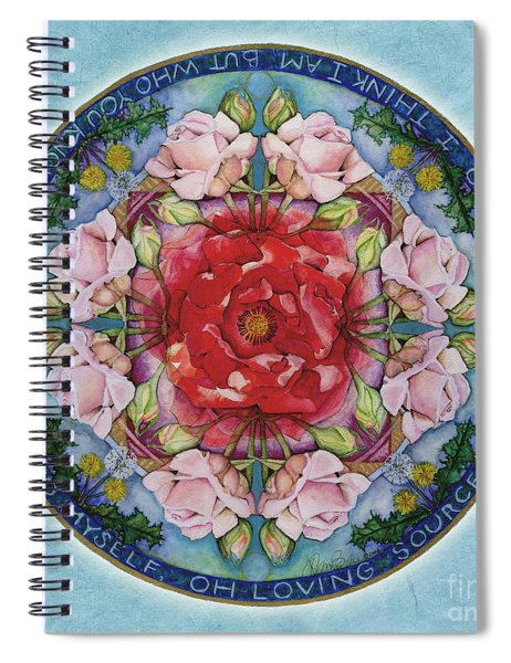 I Am That Mandala Spiral Notebook
