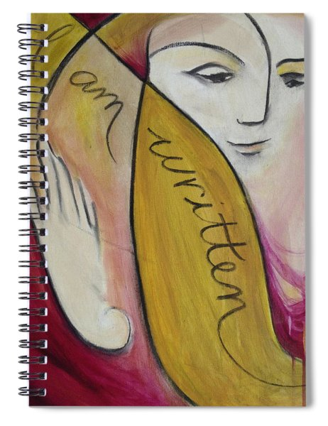 I Am Written Spiral Notebook