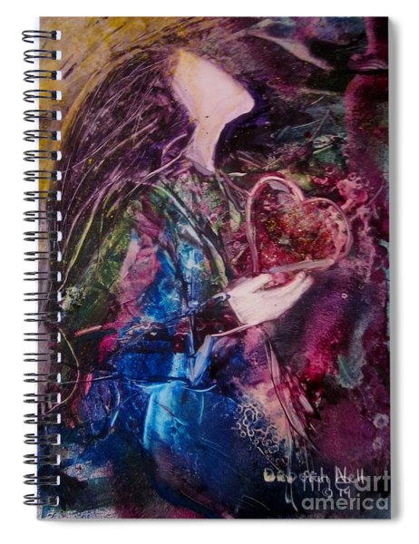 I Give You My Heart Spiral Notebook