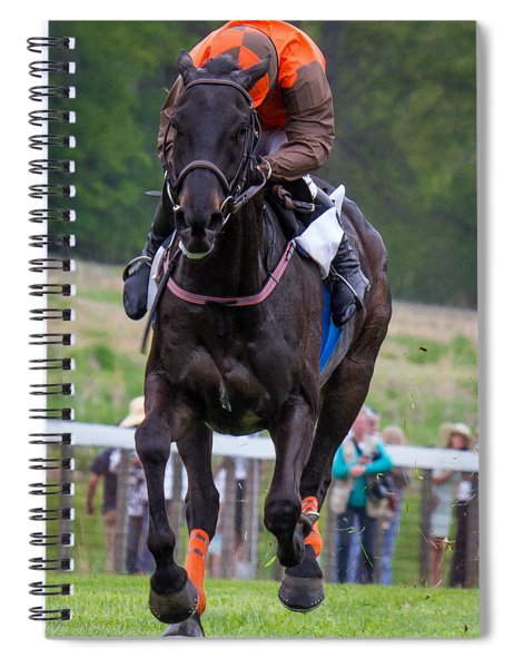 Spiral Notebook featuring the photograph I Just Can't Look by Robert L Jackson