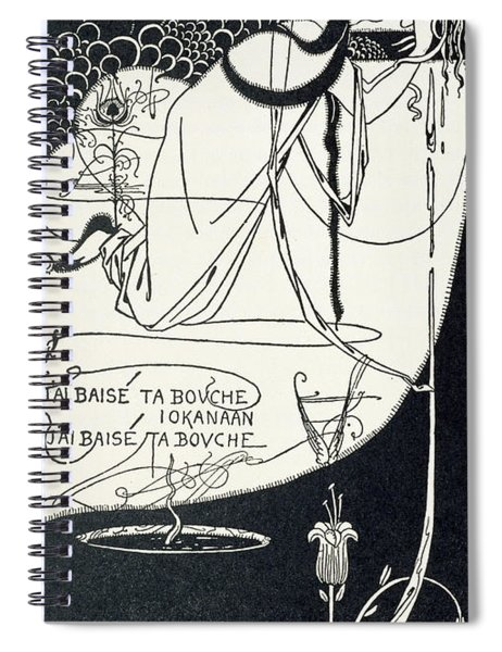 I Kissed Your Mouth Spiral Notebook