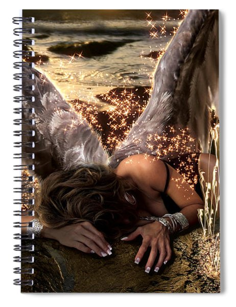I Know The Sadness You Bear Spiral Notebook