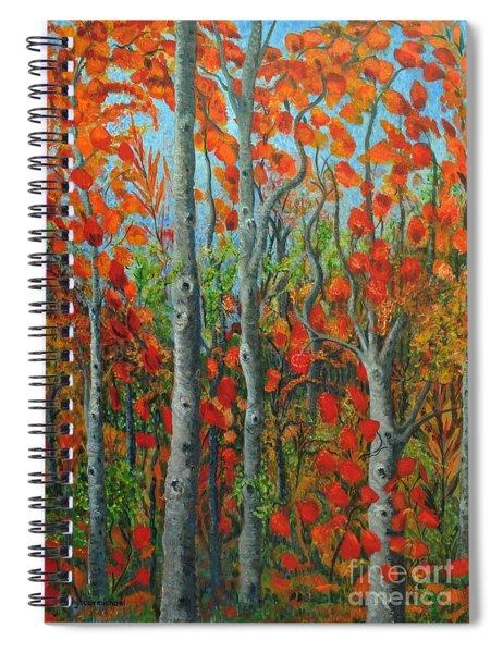 I Love Fall Spiral Notebook