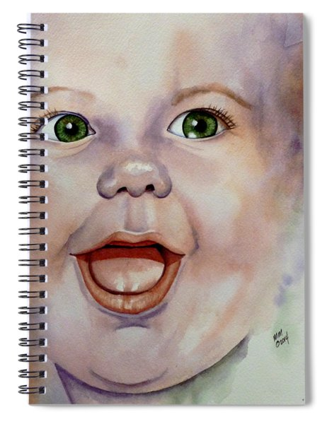 I Love You Baby Spiral Notebook