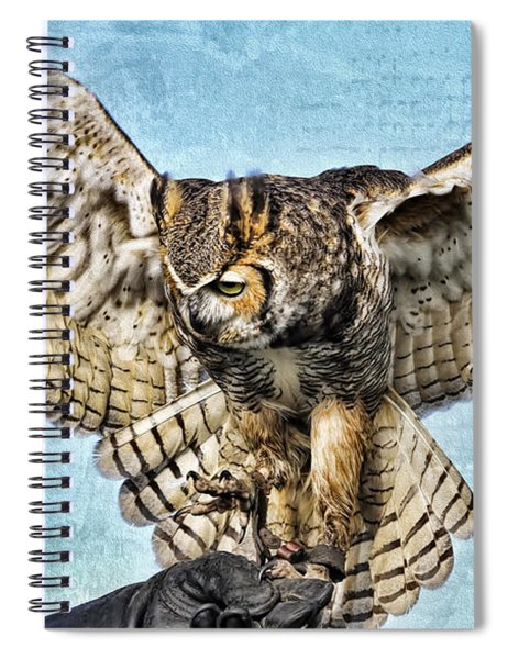 I Want To Fly Spiral Notebook