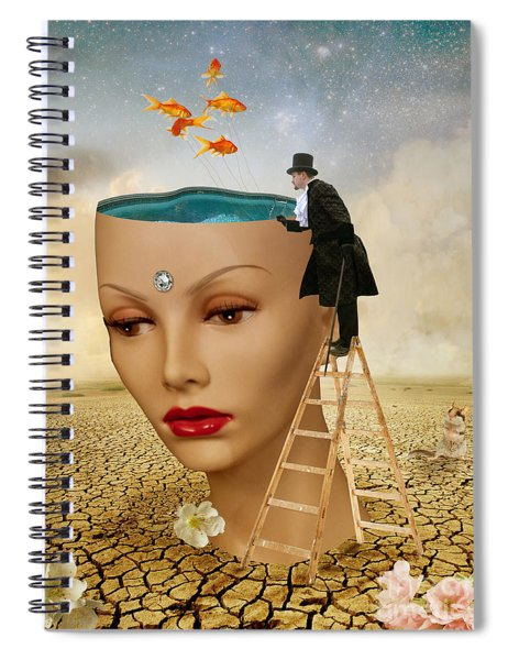 I Want To Look Inside Your Head Spiral Notebook