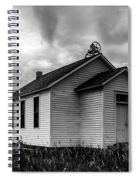 Icarian Schoolhouse Spiral Notebook
