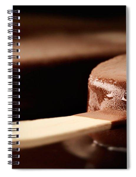 Ice Cream Chocolate Bar Spiral Notebook