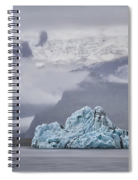 Ice Guardian Spiral Notebook