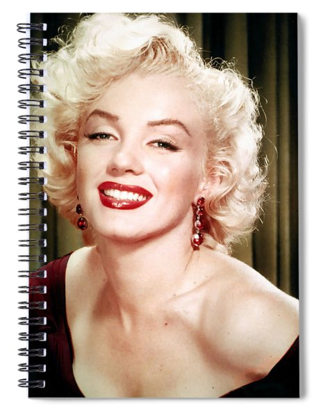 Iconic Marilyn Monroe Spiral Notebook