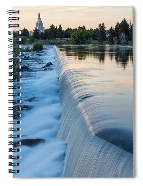 Idaho Falls Sunset Spiral Notebook