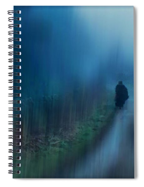 If You Are Leaving Just Leave Spiral Notebook