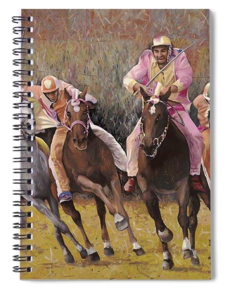 il palio dell'Assunta Spiral Notebook