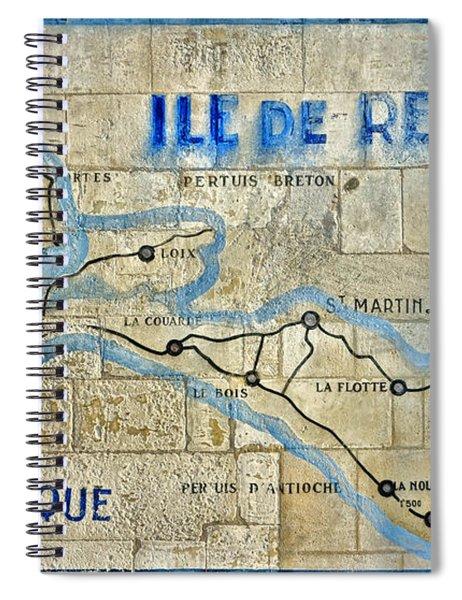 Ile De Re Spiral Notebook