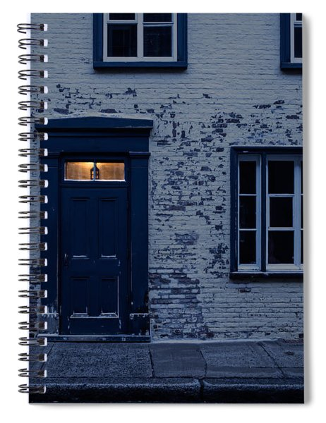 I'll Leave The Light On For You Spiral Notebook