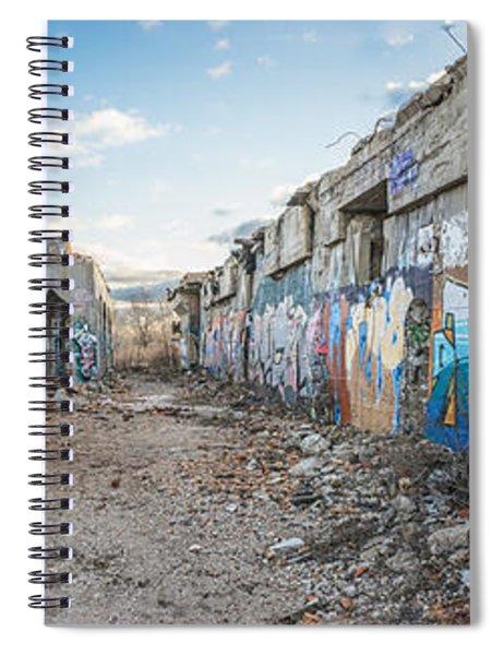 Illegal Art Museum Spiral Notebook
