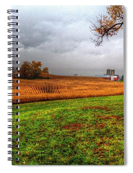 Illinois Farmland I Spiral Notebook