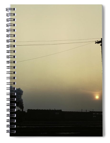Illinois Railroad, 1942 Spiral Notebook