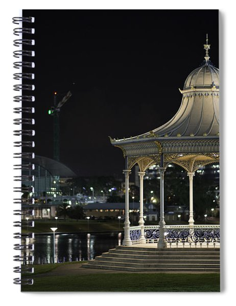 Illuminated Elegance Spiral Notebook
