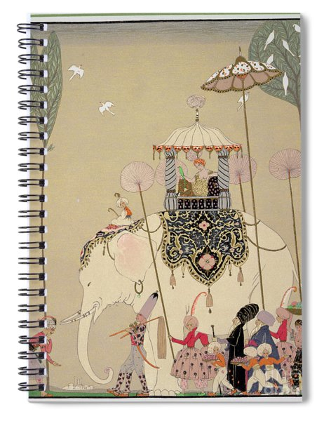 Imperial Procession Spiral Notebook