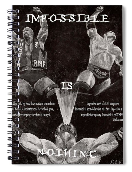 Impossible Is Nothing Spiral Notebook