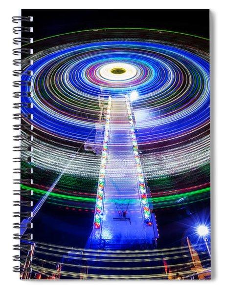 In A Spin Spiral Notebook