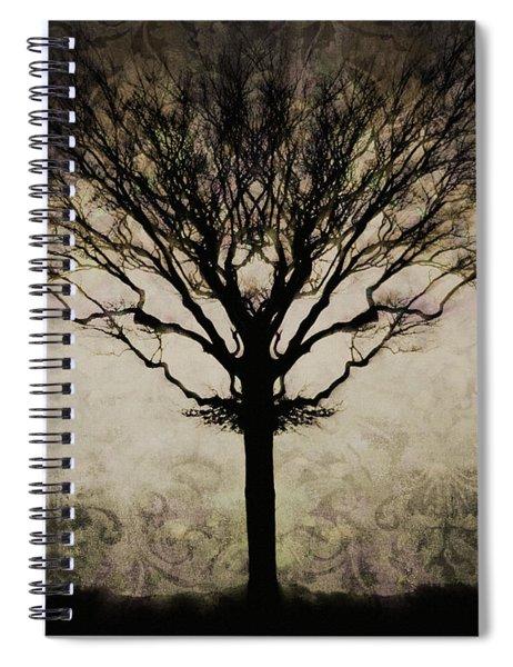 In A Symmetrical World Spiral Notebook