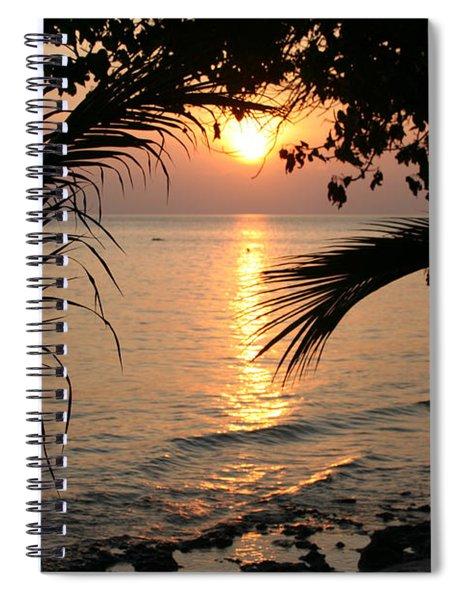 In Between Days Spiral Notebook
