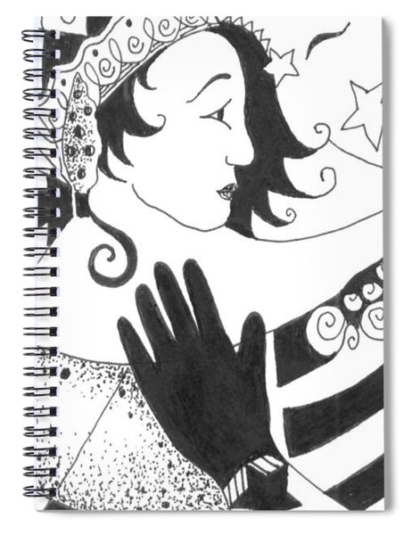 In Duality There Is No Light Without Dark Spiral Notebook