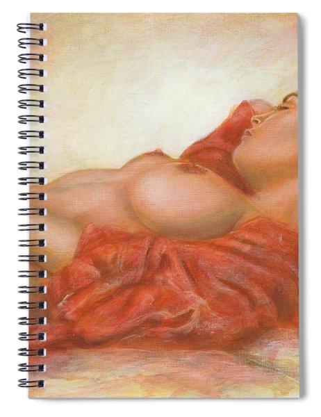 In Her Own World Spiral Notebook