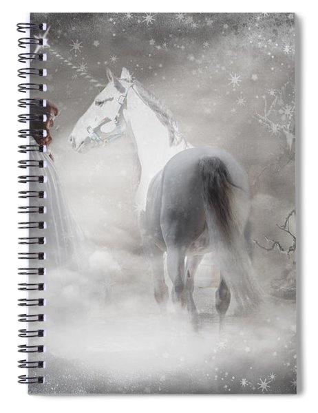 In Honor Of The Unicorn Spiral Notebook