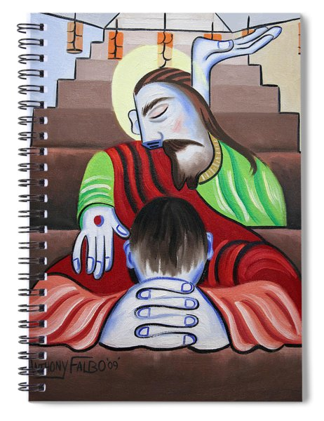 In Jesus Name Spiral Notebook