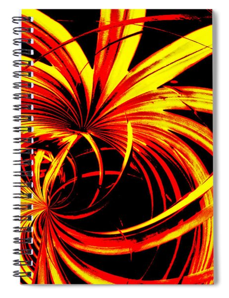 In Motion Spiral Notebook